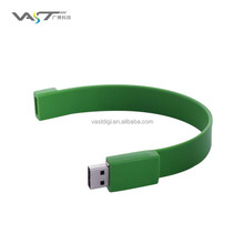 2G/4G/8G/16G chip USB drive /silicon wristband USB key for promotion