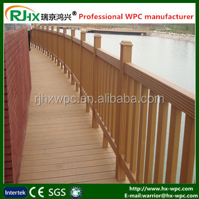 Building material best choice WPC railing and fencing in outdoor building