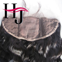 Brazilian virgin hair 18 inch Lace frontal closurewith silk base sell online