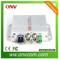 rack mount VGA/ RGBHV fiber optic transceiver / uncompressed transmission + audio+data