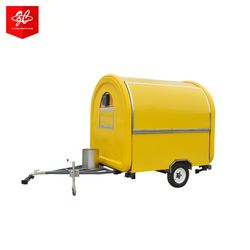 CE OEM gas/electric mobile street fast food restaurant vending trailer/carts hamburger truck/kitchen bbq van/kiosk for sale