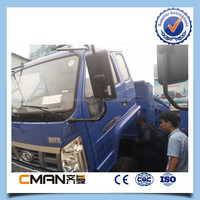 China foton 4x2 diesel fuel truck load of sand 10ton capacity hot sale