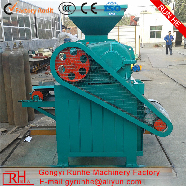 China coal charcoal dust powder briquette press making briquetting machine for wood sawdust coconut shell supplier