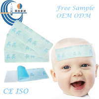 Hot Sell Factory Supply Cold Fever Reducing Baby Cool Pads