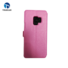 Factory Price View Window Leather Case With Holder for Samsung Galaxy S9