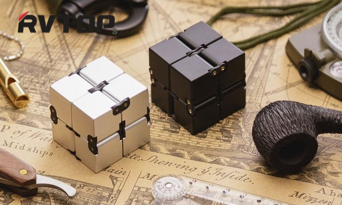 Fashion spinner ceramic Edc abs en71/ce/astm fidget toy infinity cube