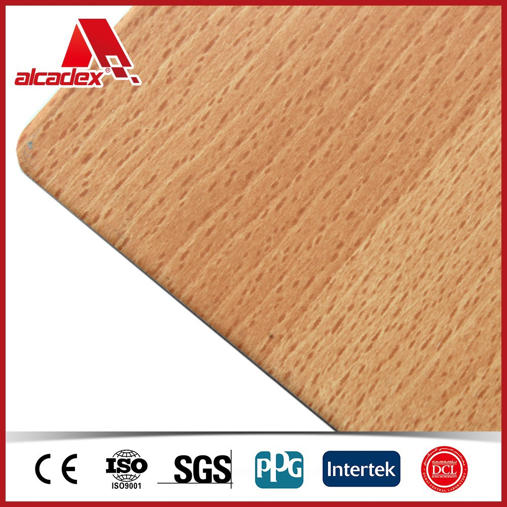 wood/timber pattern acp(Australian standard)