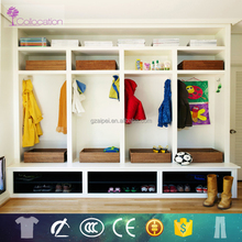 2015 Best original modern design kids wardrobe clothes closet