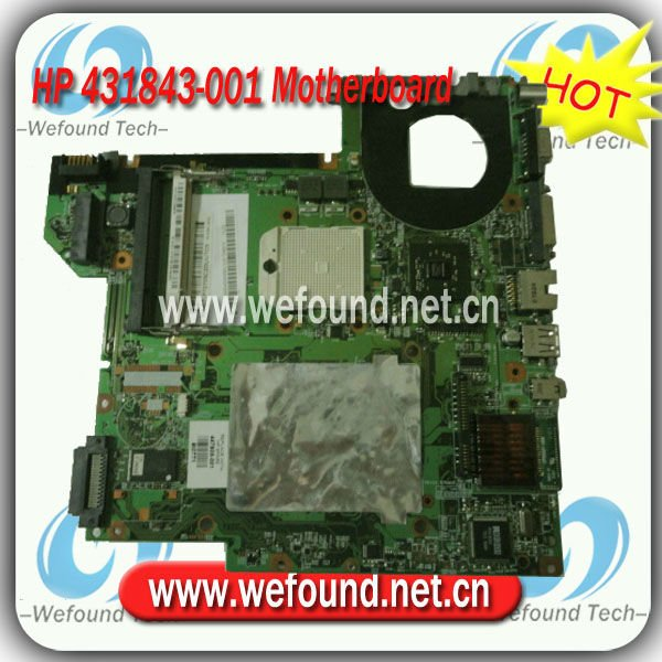 431843-001,Laptop Motherboard for HP Pavilion dv2000, Compaq Presario V3000 Series Mainboard,System Board