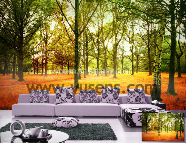 Factory direct sale good quality Eco solvent ink printing wallpaper wallcoverings