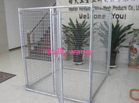 Haotian powder coated metal dog run fence panels factory