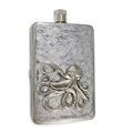 Carved Mini Whisky Stainless Steel Hip Flask ,Accept custom design for Hip Flask