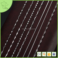 Jewelry in Silver, Italy 925 Silver Necklace Chain Wholesale