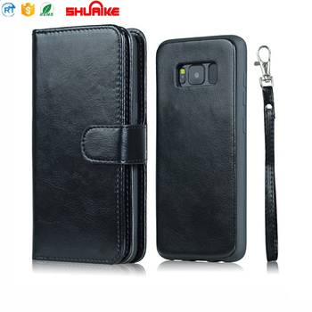 Premium Genuine Leather Wallet Case for Galaxy S8/S8 plus/note 8