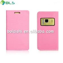 Right open wallet leather cover cases for nokia n8