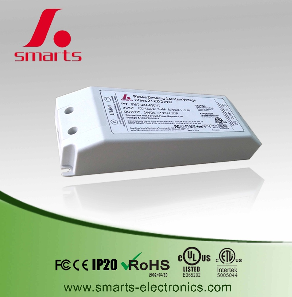 12v triac dimmable led lights driver 30w dimming led power supply for led bulb