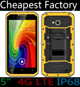 Original 5inch Android 4G Rugged Smartphone with FM GPS NFC 4G Rugged Mobile Phone