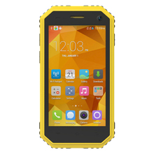 "4.5"" Android IP68 waterproof shockproof dustproof 3G 4G Bluetooth GPS WIFI G-sensor L-sensor rugged smartphone mobile phone"