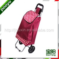 luggage cart hot sale supermarket four wheel shopping trolley