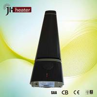 High thermal efficiency electric portable wall patio heater