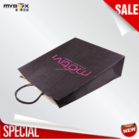 Hot Selling Recyclable Cheap Fashion kraft brown paper bag
