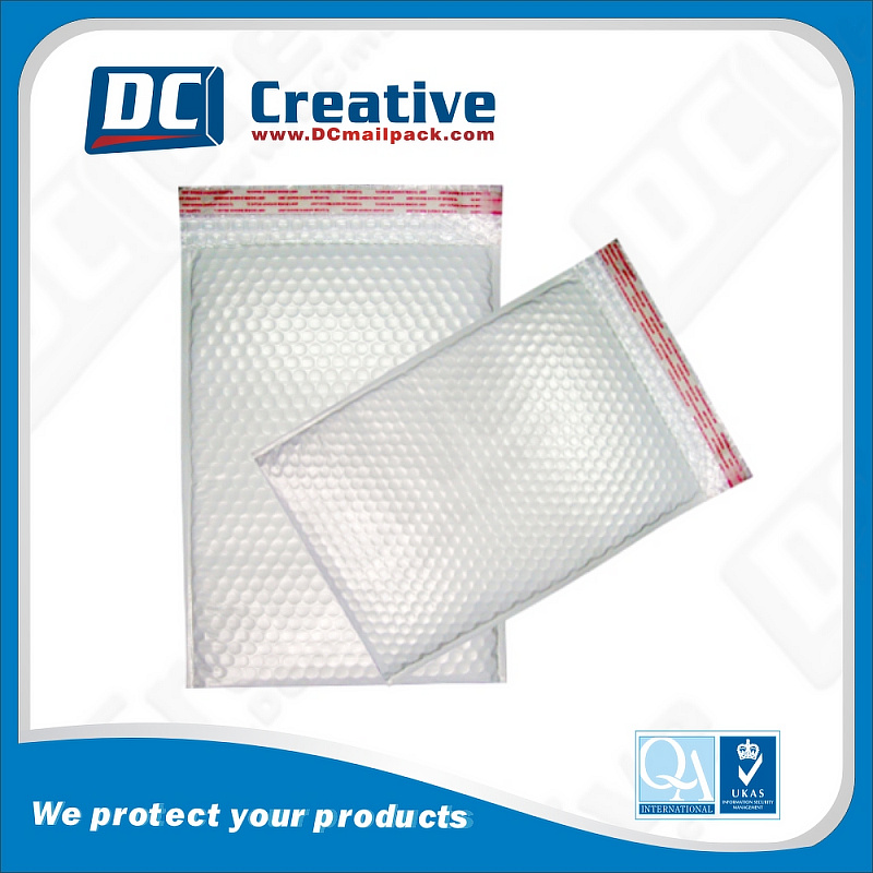 Custom poly mailer bag for shipping clothing/ Poly Bubble Mailer / Plastic Bubble Courier Mailing Bag