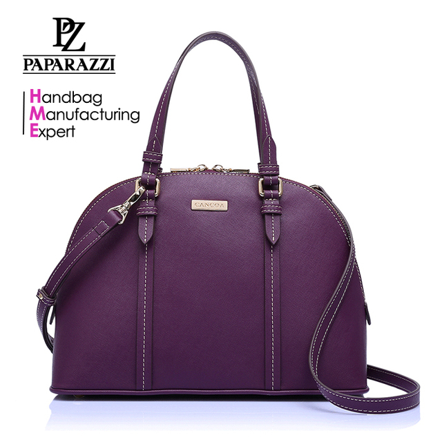 CC2023A Latest Trendy Dark Purple Color handbag manufacturer Fashion Design Handbag For Ladies