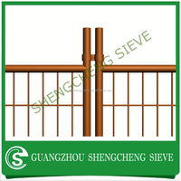 powder coated removable fence chain link temporary fence