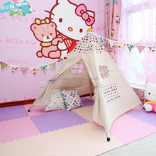 Wholesale Small Canvas Indoor Children Play Unique Camping Equipment