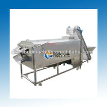 LXTP-3000 Large type industrial carrot rotary washing peeling machine with brush