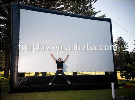HI 2016 high quality outdoor inflatable movie screen for sale