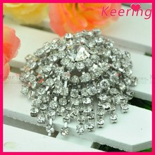 Rhinestone Shoe Clips for wedding shoes WSC-265
