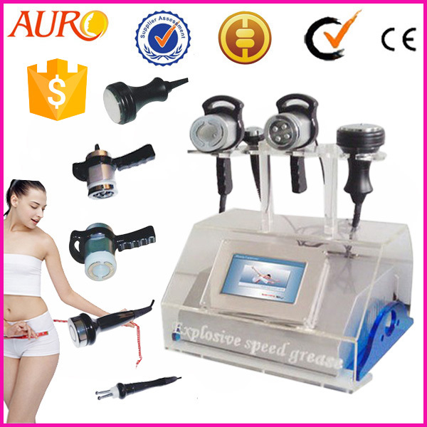 Promotion with Cheapest Price 61 Professional 5 in 1 vacuum cavitation machine with liposuction