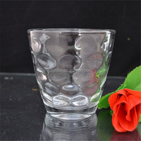 Rain drop shaped surface drinking glass cup