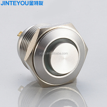 16mm waterproof push button switch no nc metal pushbutton switch