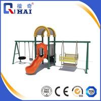 2017 high quality manufacturer indoor outddor kids metal swing set