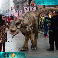 Life Size Animatronic Walking Robotic Dinosaur Costume