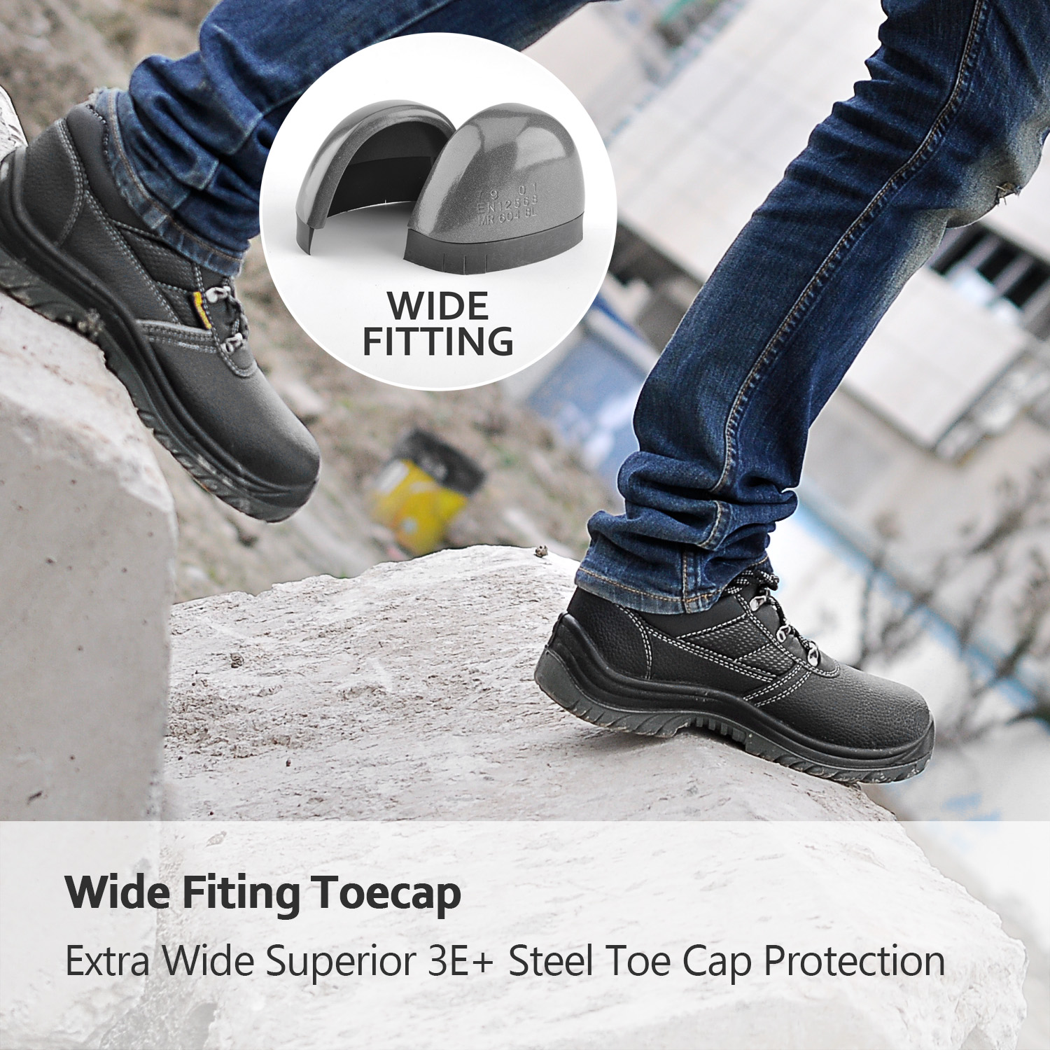 New design high quality safety shoes low price