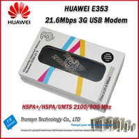 Brand New Original Unlock HSPA+ 21.6Mbps HUAWEI E353 3G USB Modem Dongle Support 900/2100MHz