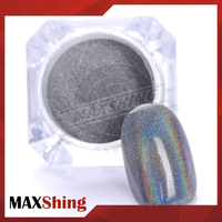 Holographic Powder Chrome Pigment Rainbow Nail