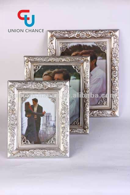 Rectangle plastic photo frame different size photo frame with picture insert