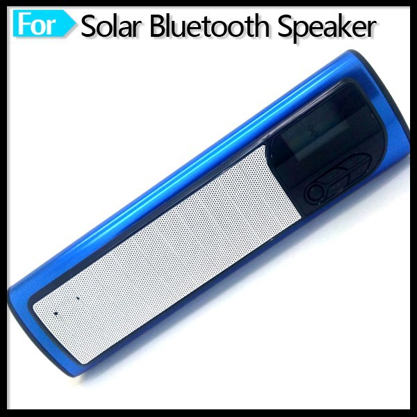 Solar Bluetooth Speaker with FM Radio Stereo Wireless Outdoor Sport Exercise Your Powers Enjoying Dynamic Music