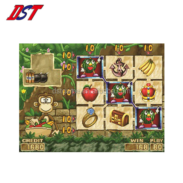Taiwan DST Monkey land astro slot video game