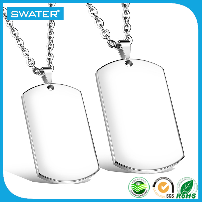 Jewelry Wholesale Thailand Custon Stainless Steel Engraved Name Design Pendant