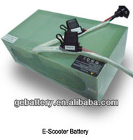 Rechargeable 24V 24Ah E-scooter LiFePO4 Battery Pack