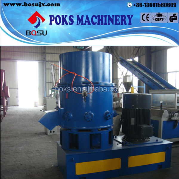 high output plastic film agglomerator
