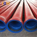 FBE fusion bonded epoxy coating ductile iron pipe