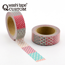 Colorful And Varied Splicing Patterns Decoration Planner Tape