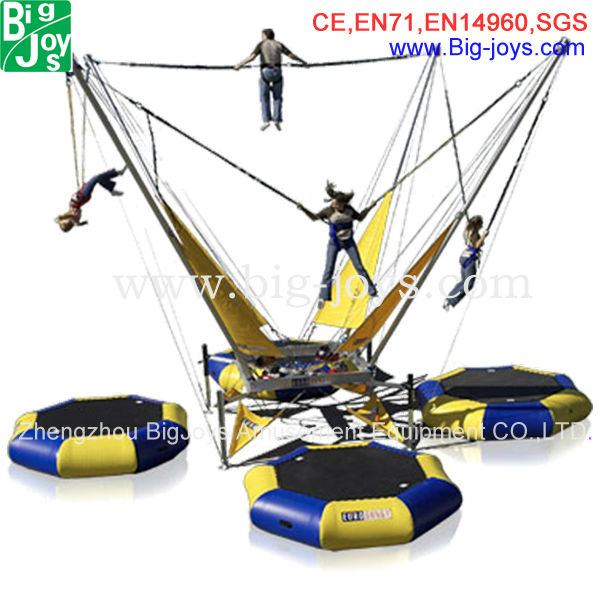 children bungee jumping equipment/bungee cord trampoline/bungee trampoline for sale