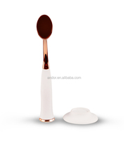 Private label makeup brush foundation makeup brush oval makeup brushes